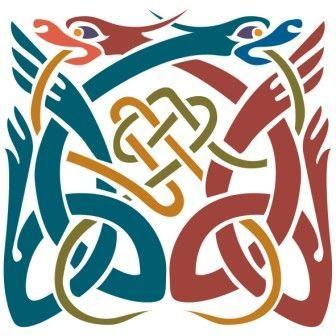 Кельтские орнаменты, которые являются, пожалуй, самой яркой и узнаваемой чертой всего кельтского искусства.