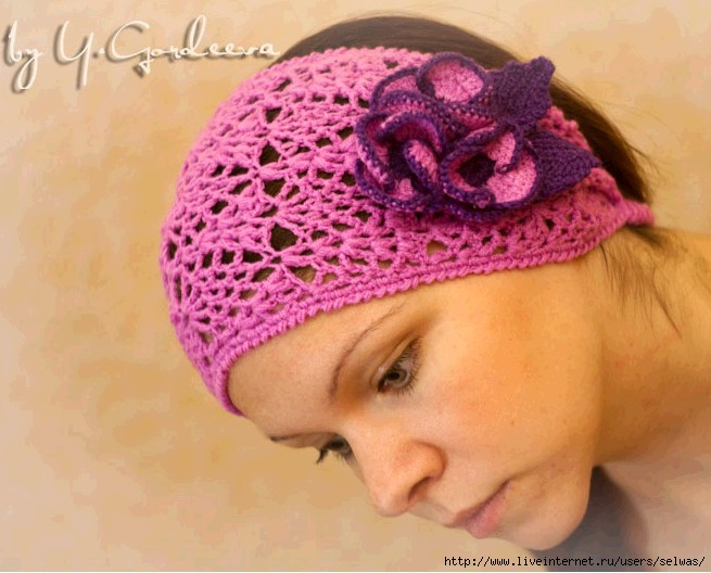 повязка на голову для девушек