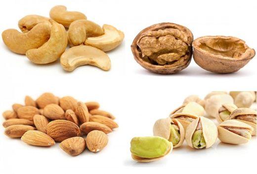 Десять фактов об орехах: фундук, кешью, фисташки и другие