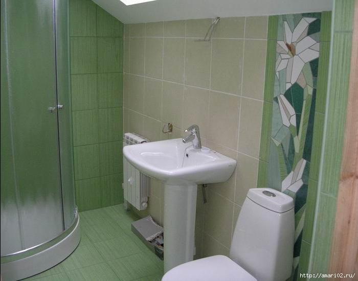 Remont vannoy komnatyi v hrushhevke1 560x405 Ремонт ванной комнаты в хрущевке.