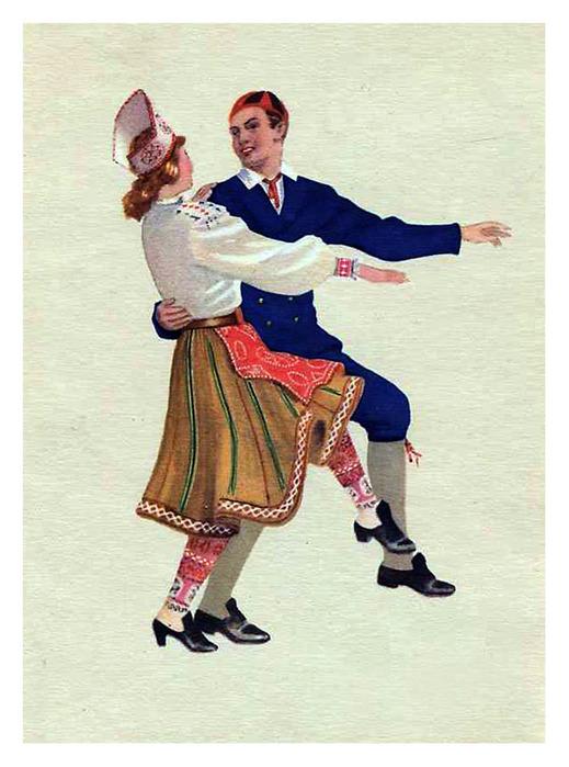 """""""Йоксу-полька""""-Эстонский"""