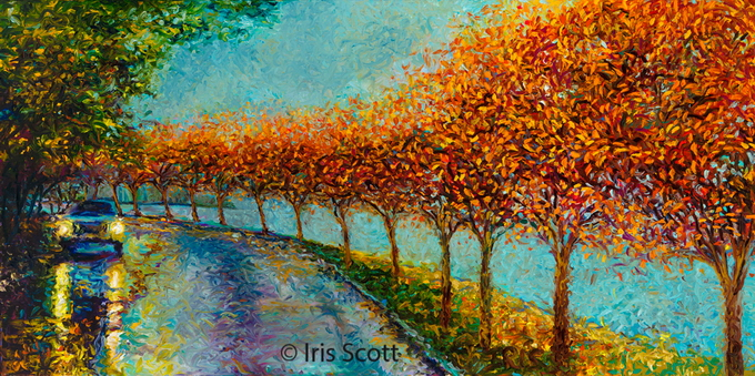 картины пальцами Iris Scott 2 (680x339, 369Kb)