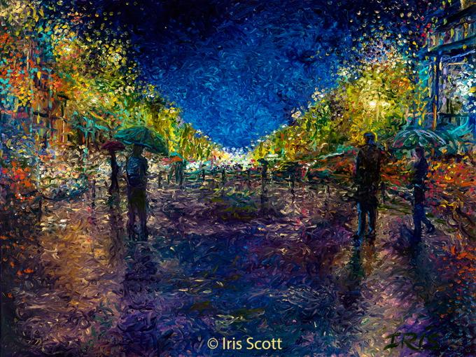 картины пальцами Iris Scott 12 (680x510, 511Kb)