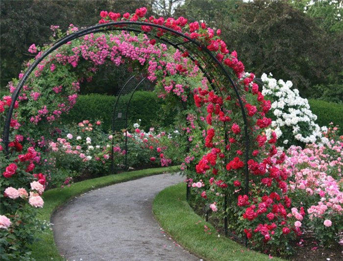 По изготовлению шпалеры для цветов