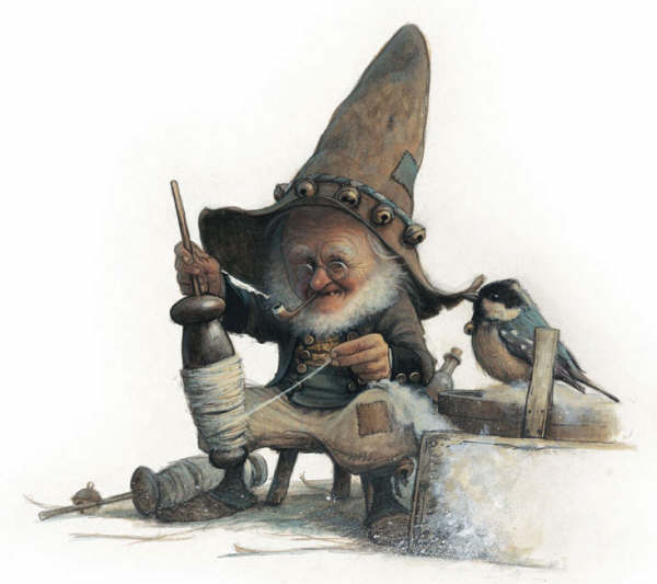 Сказочные персонажи европейского фольклора нашли прекрасное отражение в картинах художника Jean-Baptiste Monge.