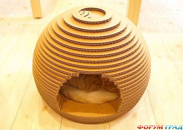 А это набор кошачьей мебели