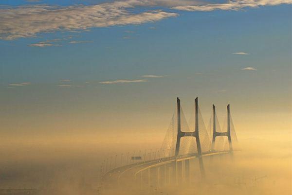 Фотография дня. Самый длинный мост в Европе