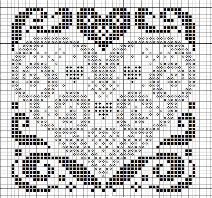 Сердечный год, январь (700x653, 387Kb)