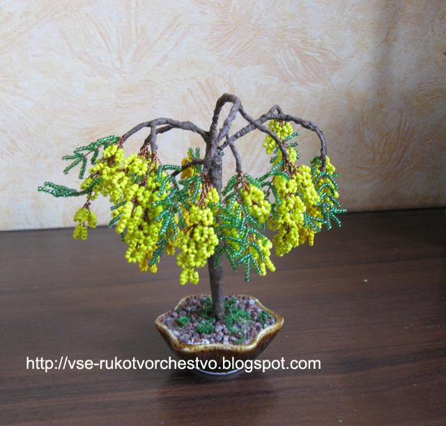 Часть 1 - Деревья из бисера