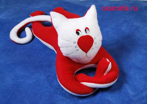 """Мягкая игрушка кота своими руками. """" Девочкам.com - Портал для девочек"""