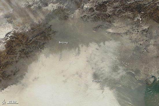 пекин с воздуха (550x367, 69Kb)