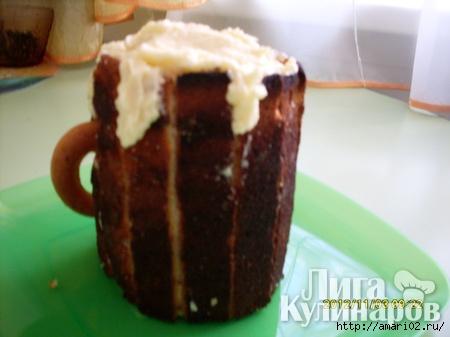 как приготовить десерт пивная кружка