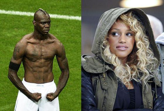 Футболист «Супер Марио» Балотелли представил новую подругу. Фотографии