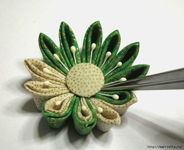 цветок канзаши (9) (635x516, 160Kb)