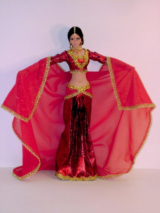 Как сделать индийский костюм своими руками для девочки