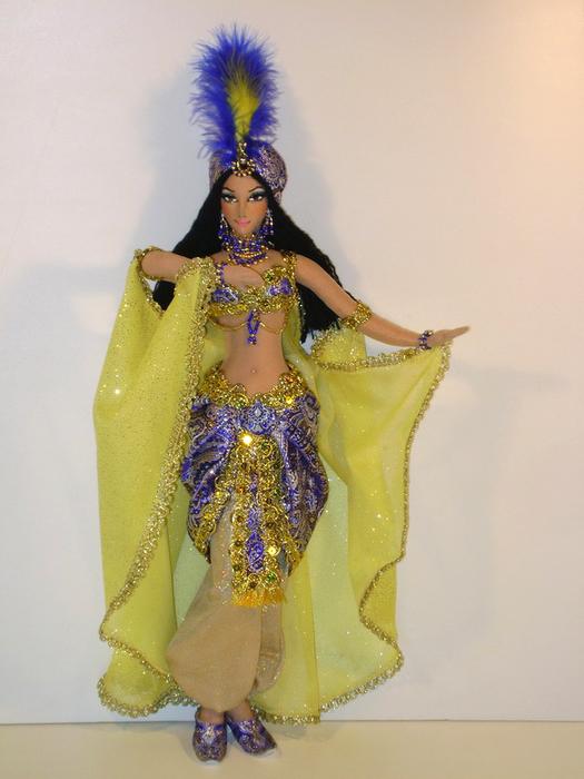Карнавальный костюм шамаханской царицы своими руками - Блог - PrizivOnline