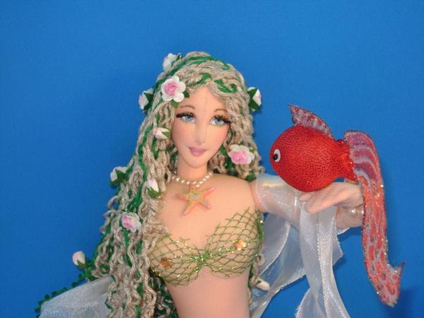 Как сделать из куклы русалку своими руками 28