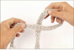 вязание на руках. шарфик (2) (257x172, 5Kb)