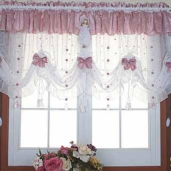 Оригинальные шторы на кухню своими руками