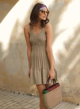 Летнее платье-сарафан с