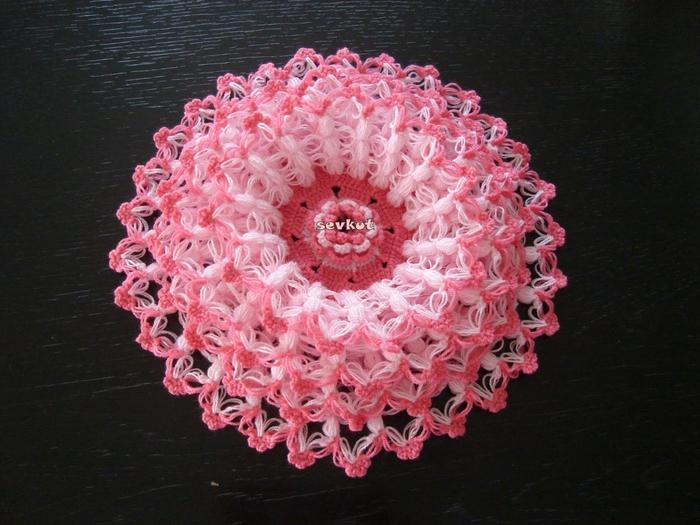 связать крючком цветы (700x525, 292Kb)