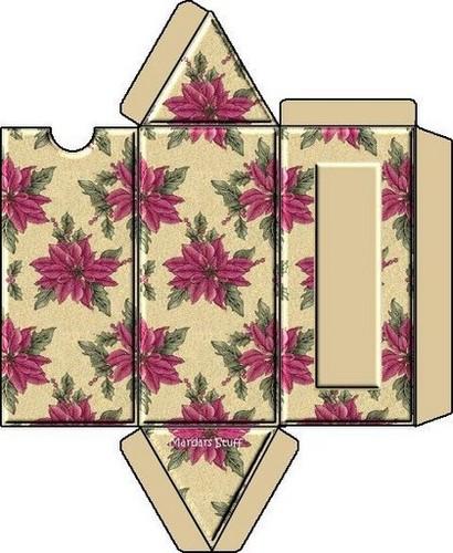 Треугольная коробка.