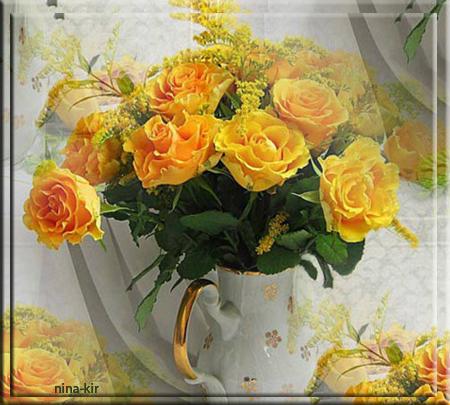 Букет-жултых-роз (450x405, 376Kb)