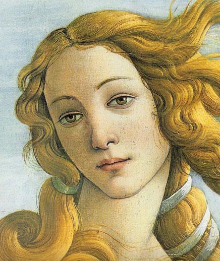 1.Сандро Боттичелли - Рождение Венеры - 1485 (436x518, 83Kb)