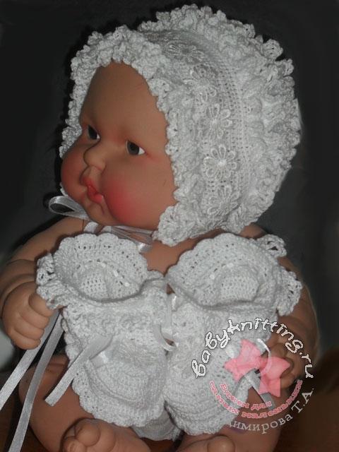 Для новорожденного своими руками спицами