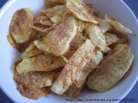 Картофельные чипсы в микро (480x360, 92Kb)