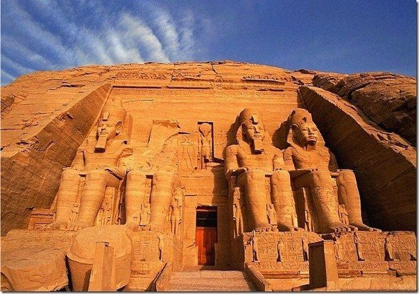 Абу-Симбел. Нубия, Египет (604x424, 76Kb)