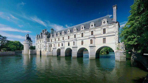 Замок Шенонсо, Франция (604x340, 43Kb)
