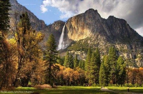 Йосемитский водопад, США (480x318, 56Kb)
