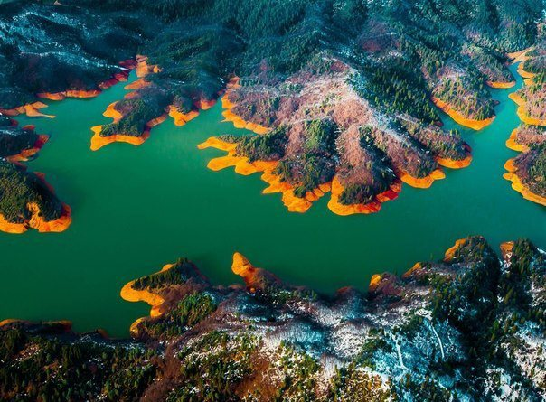 Озеро Шаста, Штат Калифорния, США (604x445, 84Kb)