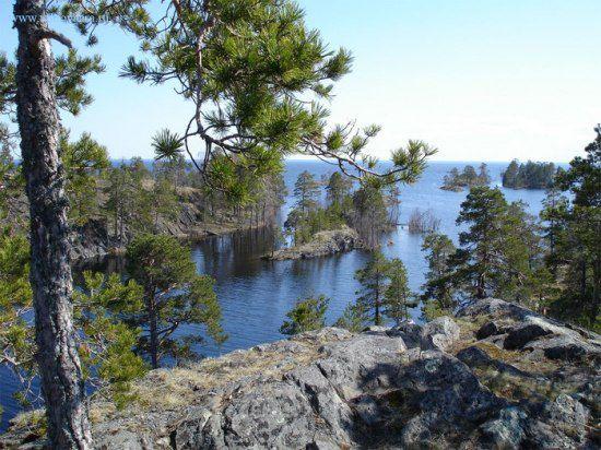 Шардонский архипелаг (Карелия, Россия) (550x412, 66Kb)