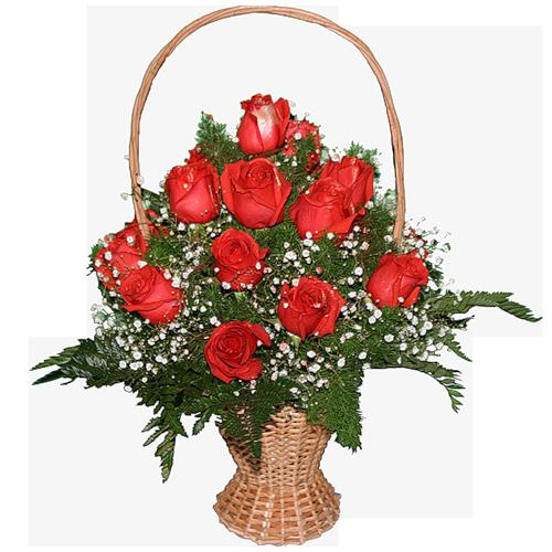 Корзина роз (500x500, 307Kb)
