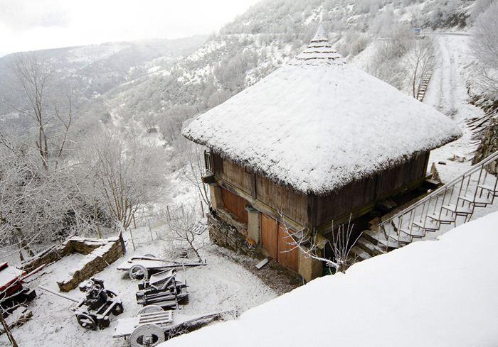Испания проснулась в снегу Фотографии