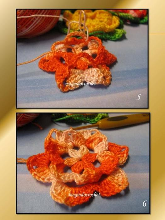 связать крючком-цветы-мастер класс (525x700, 223Kb)
