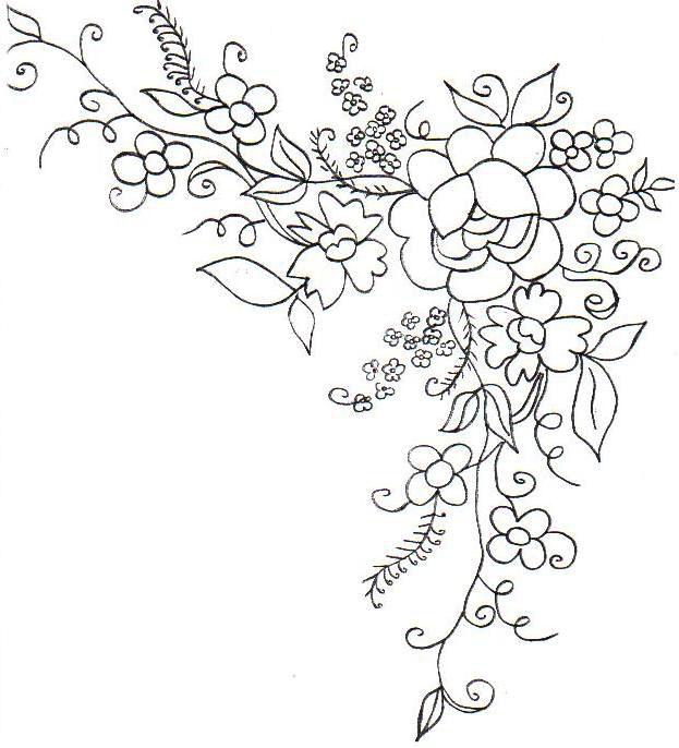 красивые рисунки цветов карандашом: