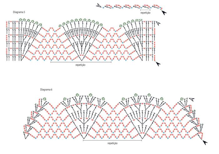 Схемы вязания комплекта для ванной комнаты (2)