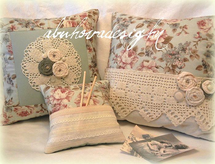 Декоративные подушки  прованс