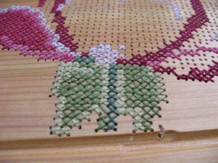 Вышивка по дереву мастер-класс