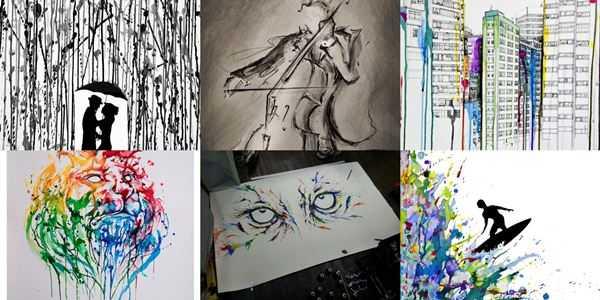 Марк Алланте. Развитие художника в течение 25 лет