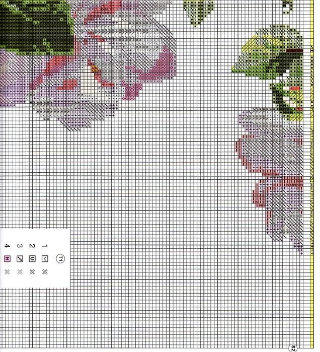 вышивка --ifen10-- - схемы