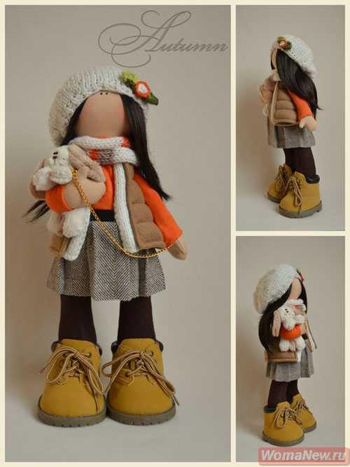 Куклы российского дизайнера татьяны
