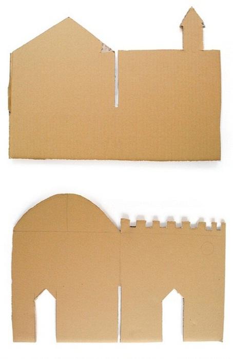 замок из картона (2) (454x700, 57Kb)