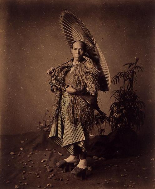 A Japanese man, late XIX century
