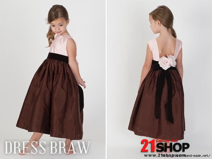 Faddish-A-line-Ankle-length-Flowers-Sash-Flower-Girl-Dresses-model-72708145 (684x514, 82Kb)
