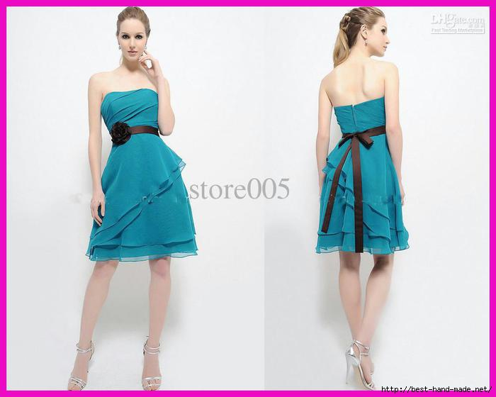turquoise-strapless-flower-sash-short-tiered (700x560, 92Kb)