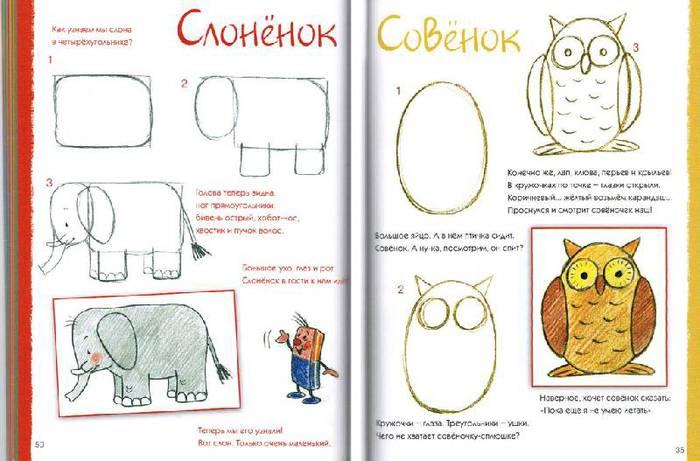Веселая школа рисования для детей от 3-х лет скачать бесплатно
